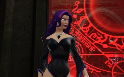 Tala from the DC Universe Online Game