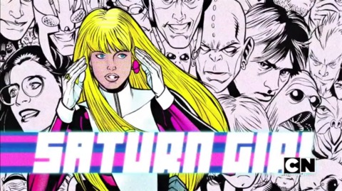 Saturn Girl from Teen Titans Go!