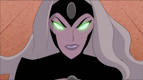 Emerald Empress from the Justice League Vs.  Fatal Five movie