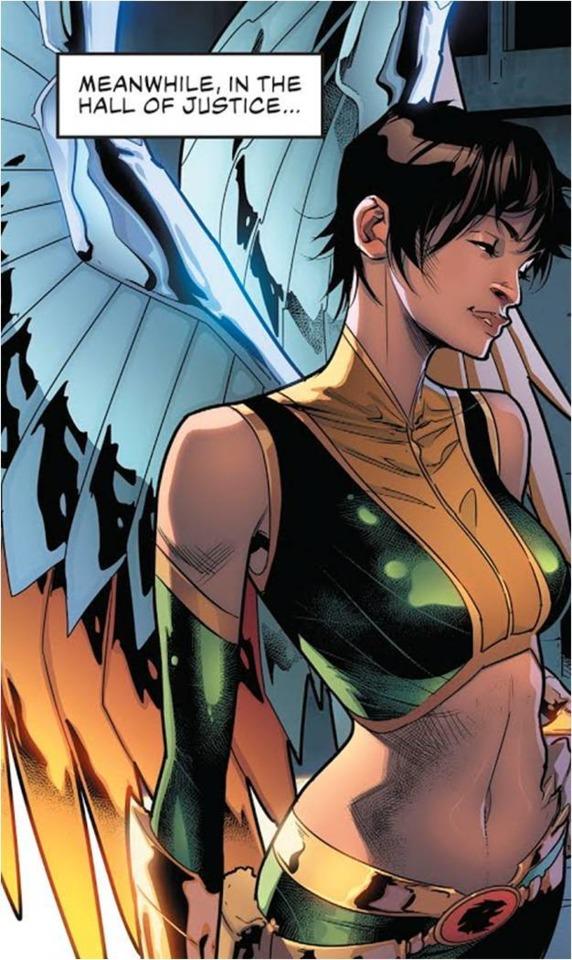 Rebirth Hawkgirl