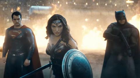 Superman, Batman and Wonder Woman vs Doomsday