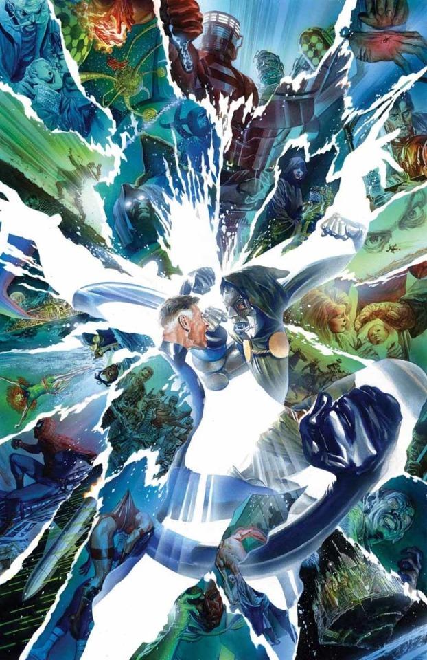 Mr. Fantastic v. Doctor Doom for the fate of the Multiverse