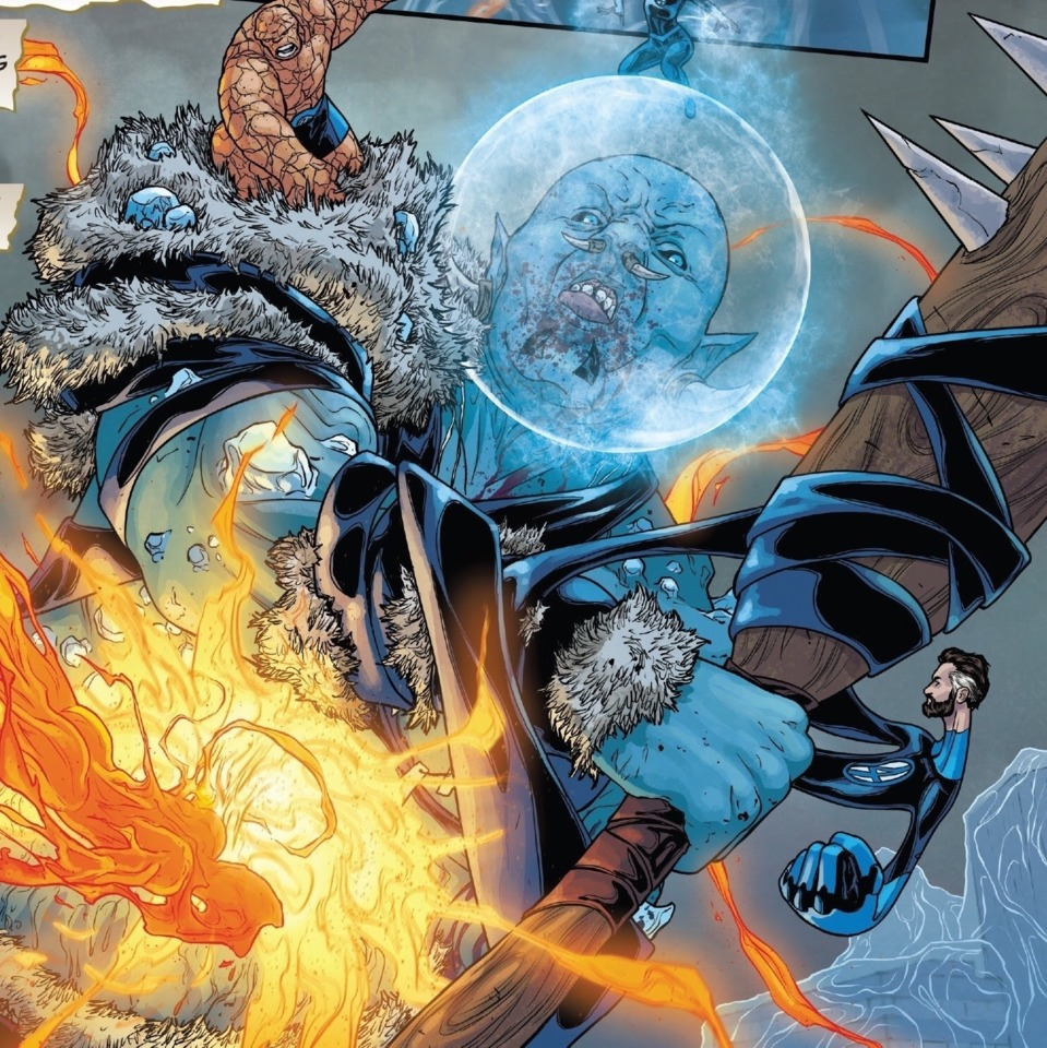 The FF take the fight to the Frost Giants