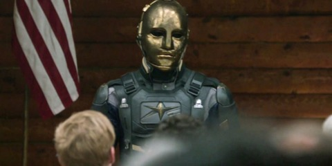 Sam Witwer as Agent Liberty