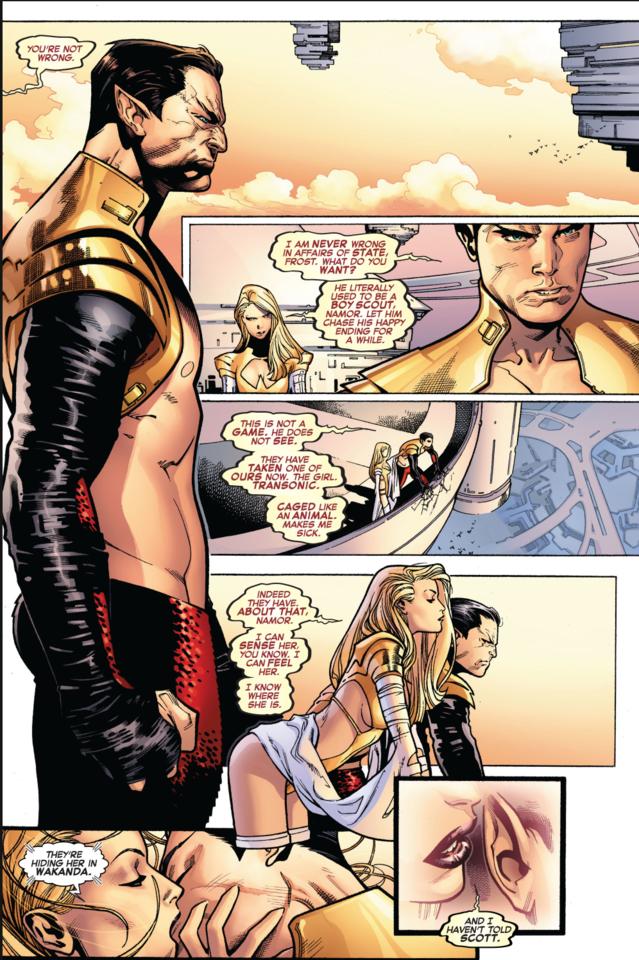 Emma Manipulating Namor