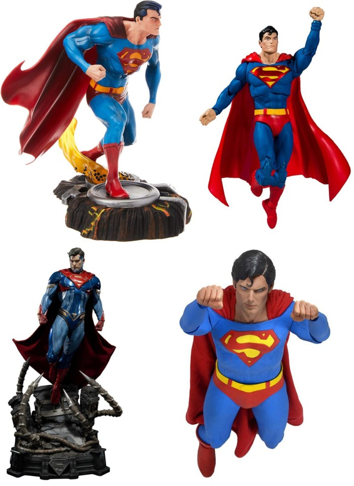 From Diamond Collectibles, McFarlane Toys, Prime 1 Studios and NECA