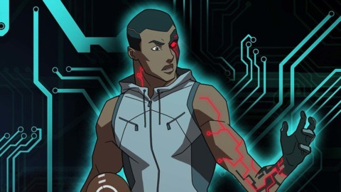 Cyborg in Young Justice