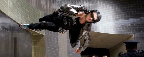 Evan Peters as Quicksilver