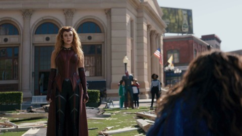 Wanda becomes the Scarlet Witch
