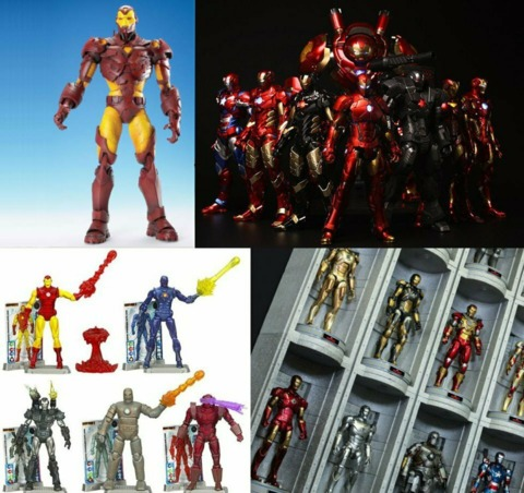 Figures from ToyBiz, Sentinel, Hasbro and Hot Toys