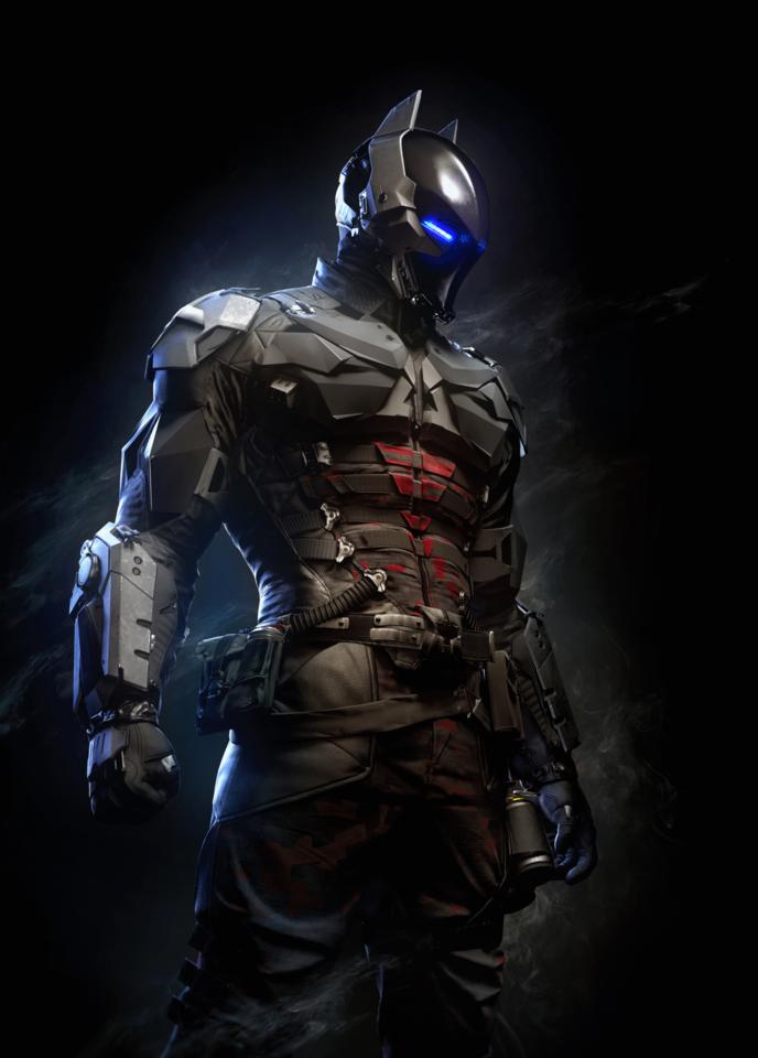 Jason as the Arkham Knight