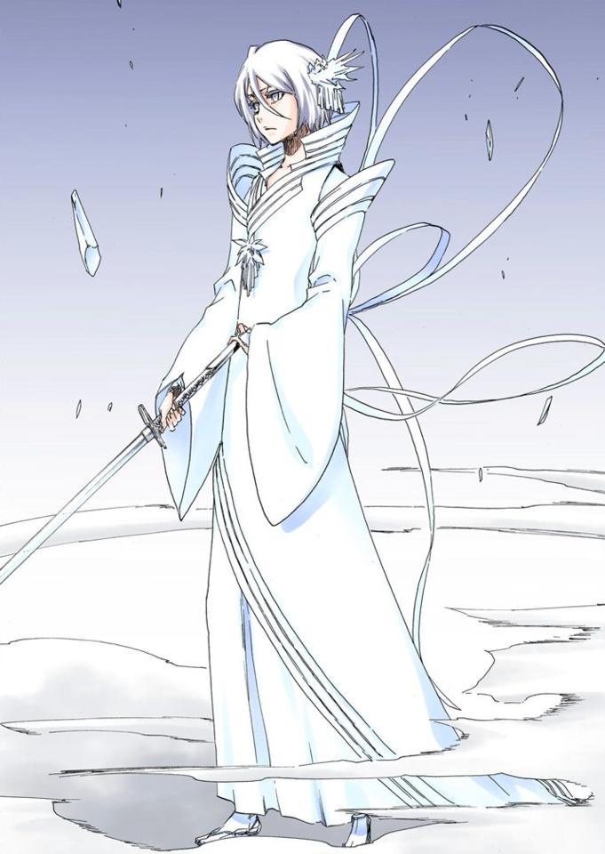 Rukia in her Newlyfound Bankai