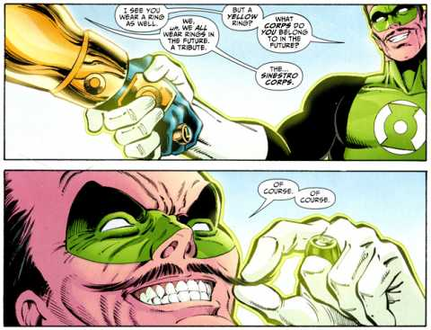 Booster Gold: Sinestro Corps Founder