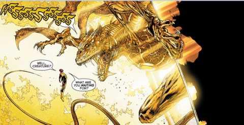 Sinestro Finally Hosts Parallax