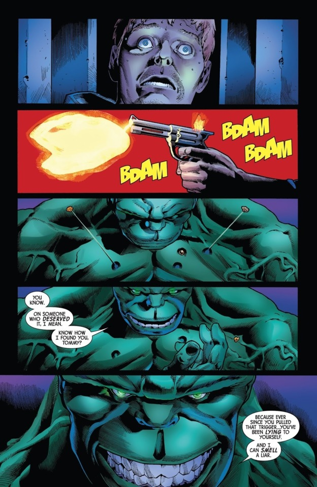 bullets bruise hulk  they don't even  register to superman hulk can be cut by normal blades  superman can't supes is clearly more durable