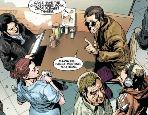 Banner Meeting with Maria Hill