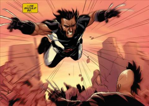 Daken vs. Wolverine