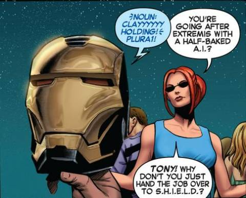 Iron Man's New A.I.