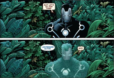 The Invisible Iron Man