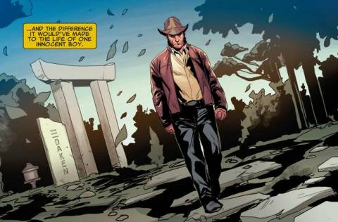 Wolverine at Daken's Grave