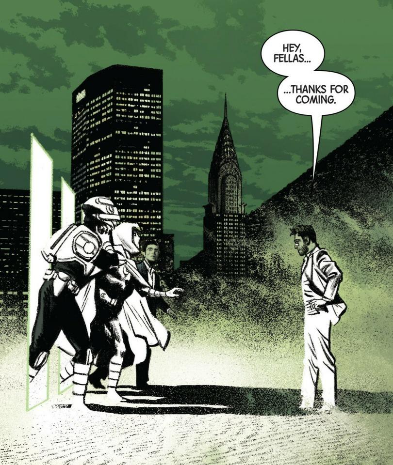 Moon Knight's identities meeting