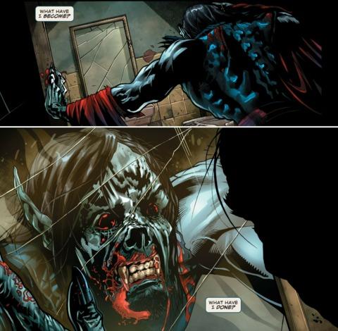 Morbius' mutation progresses