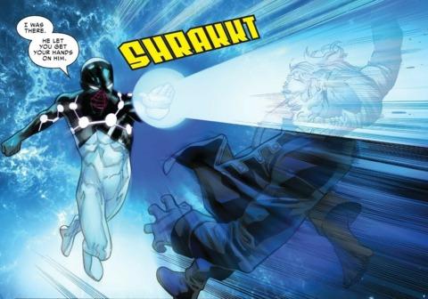 Miles as Captain Universe