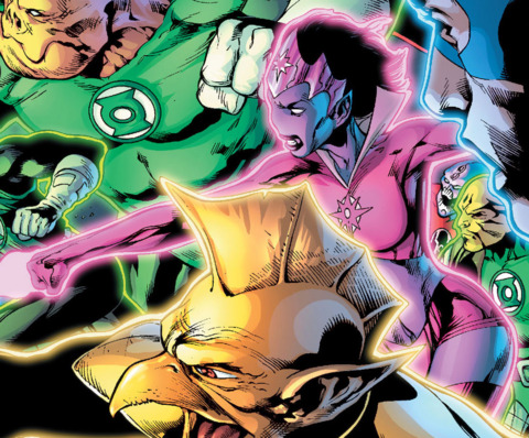Bloss joining the fight during Blackest Night