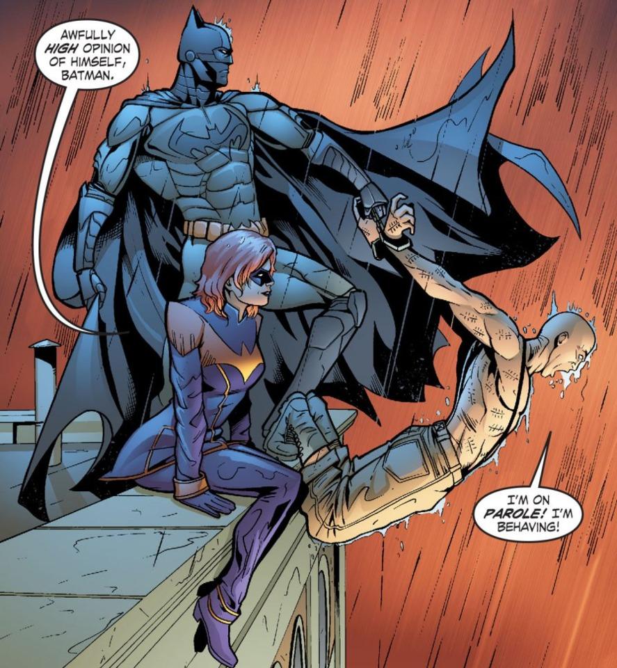 Smallville's Nightwing & Batman