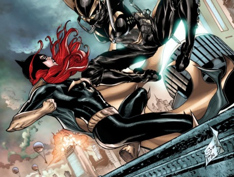 Batgirl VS Stix