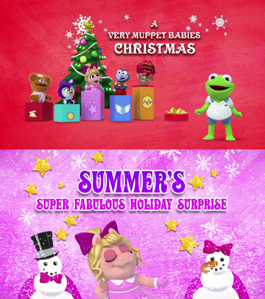 Muppet Babies 2021 A Very Muppet Babies Christmas Muppet Babies 117 A Very Muppet Babies Christmas Summer S Super Fabulous Holiday Surprise Episode