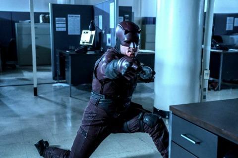 Dex pretending to be Daredevil