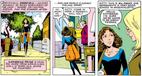 Kitty Pryde's First Appearence