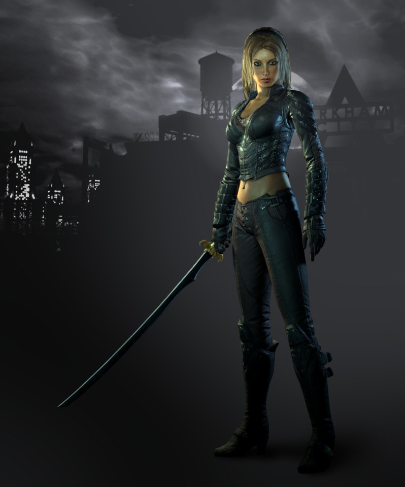 Talia in Arkham City