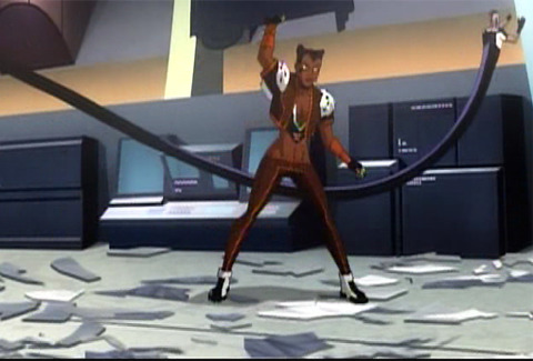 Vixen/Vamp in JL: Crisis on Two Earths