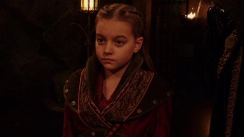 Milli Wilkinson as Talia in Legends of Tomorrow
