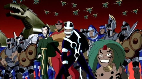 Mad Harriet and the Female Furies in JLU