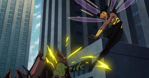Bumblebee in Teen Titans: The Judas Contract