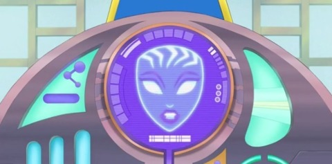 Oracle in DC Super Hero Girls: Intergalactic Games