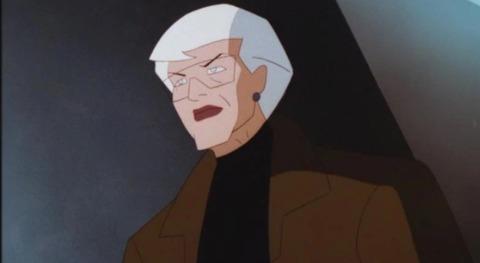 Commissioner Barbara Gordon in Batman Beyond