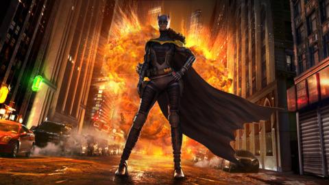 Batgirl in Injustice: God Among Us