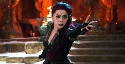Fan Bingbing as Blink in X-men Days of Future Past
