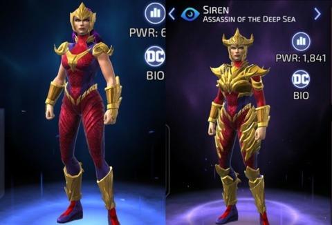 Siren in DC Legends