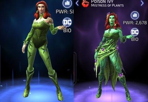 Poison Ivy in DC Legends