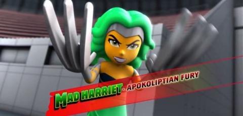 Mad Harriet in LEGO DC Super Hero Girls: Brain Drain