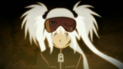 White haired Yurine