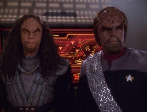 Martok and Worf
