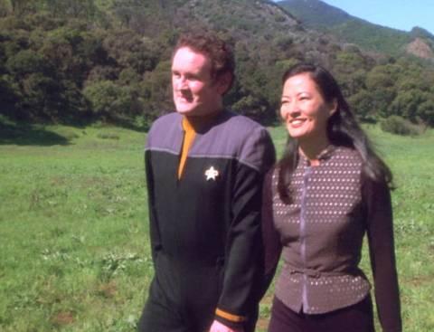 O'Brien and Keiko