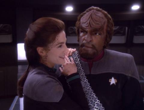 Jadzia and Worf