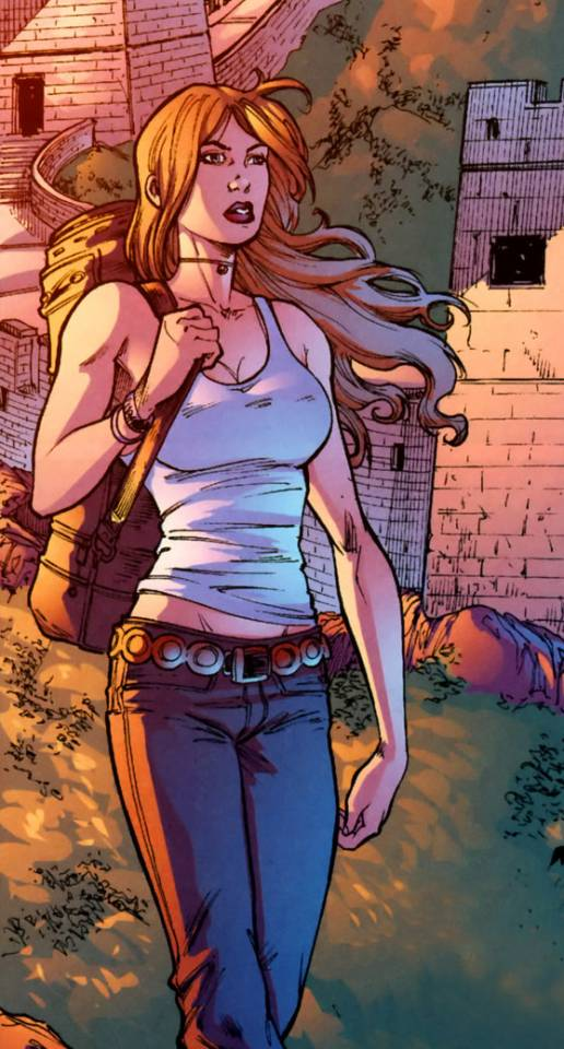 Artemis in civilian clothes